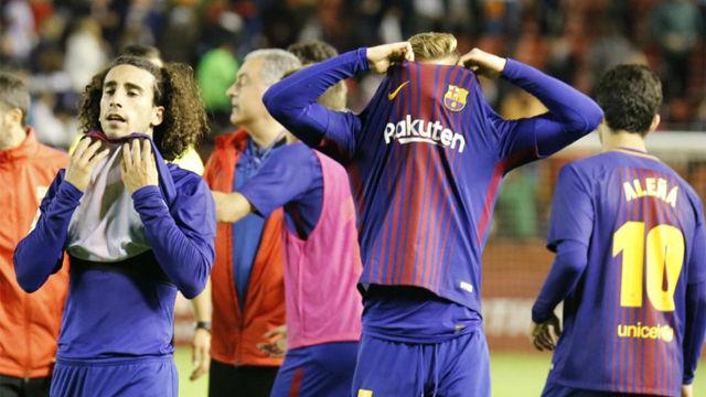 El Barça B no pasa del empate y consuma el drama del descenso