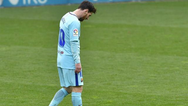 LALIGA | Eibar-Barça (0-2): Messi volvió a encontrarse con el palo y ya van 17