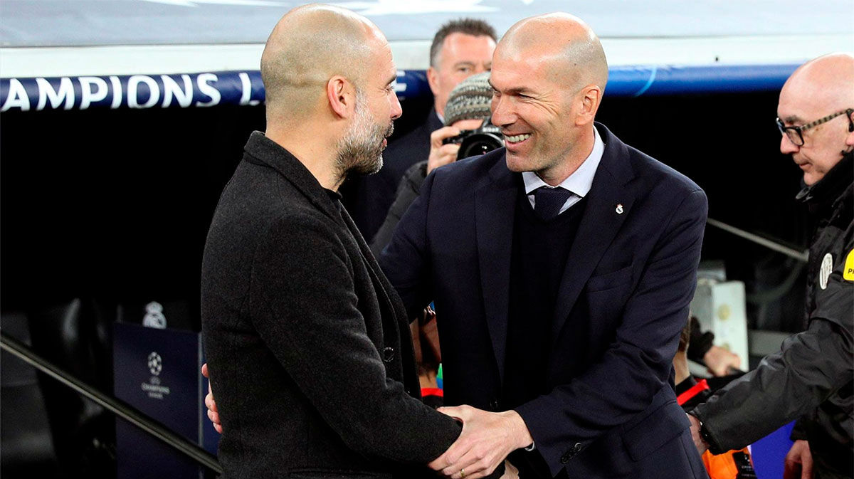 Las palabras de Guardiola sobre Zidane que te sorprenderán antes del encuentro de Champions