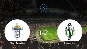 El Lenense deja sin sumar puntos al San Martín (1-2)