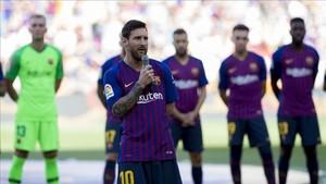 Leo Messi se comprometió a traer la Champions League de nuevo