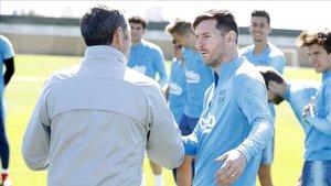 Leo y Valverde acabaron teniendo una gran relación