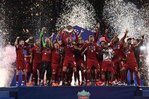 El Liverpool se alza con la Copa de Europa de Campeones al ganar el último partido de fútbol de la Liga de Campeones de la UEFA entre el Liverpool y el Tottenham Hotspur en el Estadio Wanda Metropolitano de Madrid.