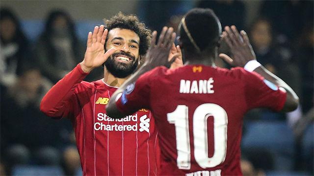 El Liverpool golea al Genk