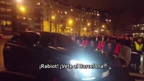 Los aficionados del PSG invitan a Rabiot a marcharse al Barça