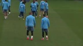 Luis Suárez, baja en el último entrenamiento antes del partido ante el Celta