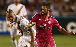 El Madrid se estrenó de fucsia en esta pretemporada