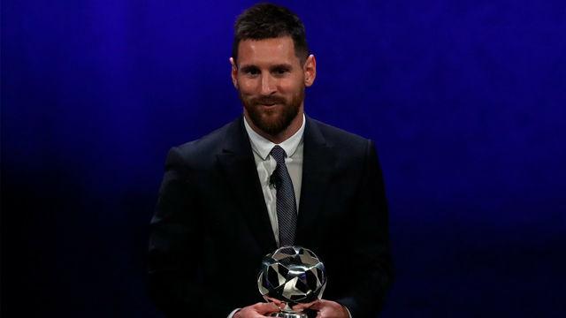 Messi, elegido Delantero del Año por la UEFA