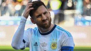 Messi fue muy duro con la Conmebol