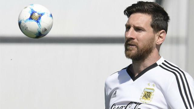 Messi, el líder que quiere Argentina