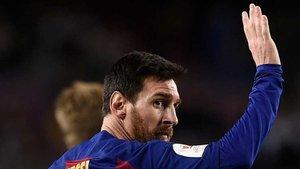 Messi lleva mucho tiempo a ritmo de récord