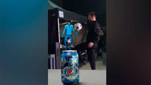 Messi muestra su magia en un nuevo anuncio