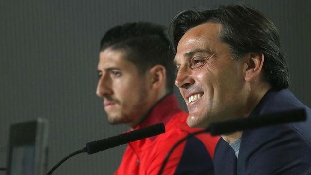 Montella: Tenemos una gran posibilidad de ganar una Copa