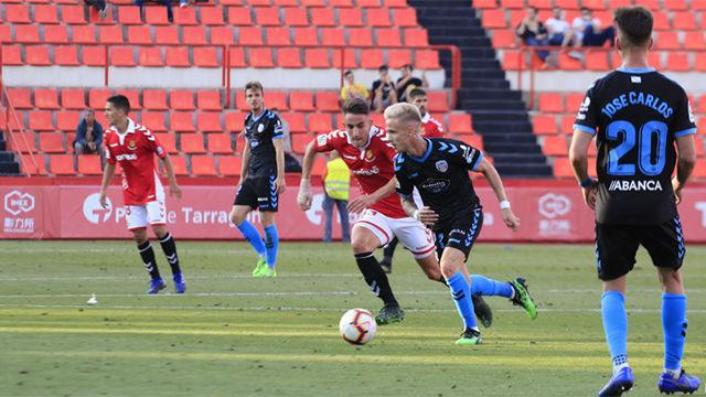 El Nàstic se despide de Segunda con un empate ante el Lugo