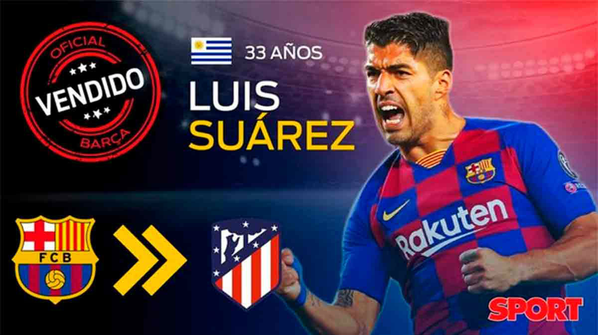 Oficial: Suárez deja el Barça y se marcha al Atlético de Madrid