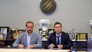 Perarnau y Rubi ya han trazado las líneas del nuevo proyecto deportivo