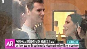 El Programa de Ana Rosa filtra las primeras imágenes de Albert Rivera y Malú | La Coctelera