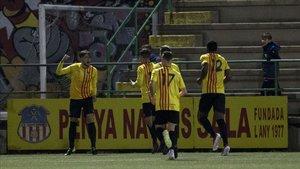 El Sant Andreu eliminó al Barça B en cuartos de final