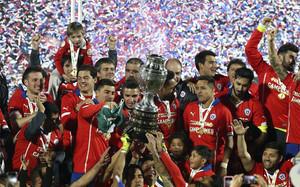 La selección chilena conquistó la Copa América por primera vez en su historia