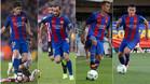 Sergi Roberto, Aleix, Nili y Palencia son los laterales del Barça y filial