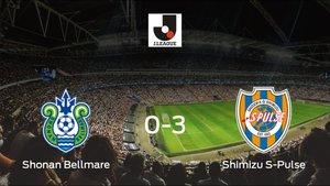 El Shimizu S-Pulse se lleva la victoria tras golear 0-3 al Shonan Bellmare