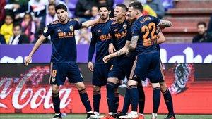 El Valencia celebró la clasificación para la Champions y ya se centra en la Copa del Rey