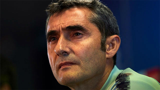 Valverde no despejó las dudas sobre la posible titularidad de Dembélé