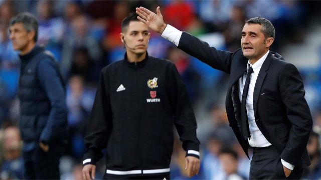 Valverde: Dudo que Busquets agarre si no hay ocasión clara