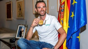 Valverde ha sido recibido este lunes en el CSD