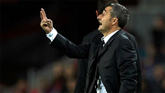 Valverde: No voy a poner ningún pero al equipo