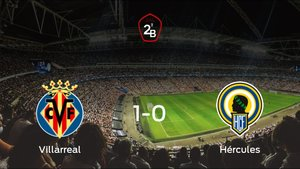 El Villarreal B gana 1-0 al Hércules en el Ciudad Deportiva Del Villarreal
