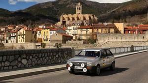 El Seat Ibiza de Viaplana-Jiménez que consiguió la victoria