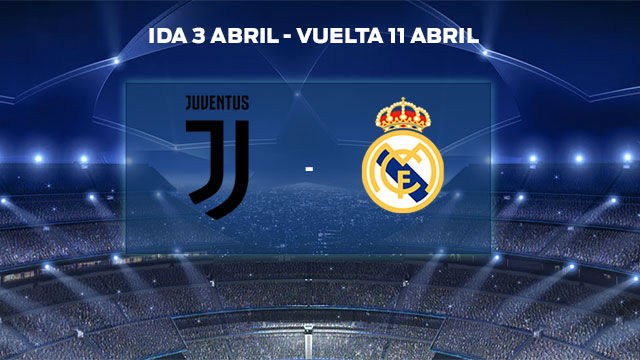 Real Madrid - Juventus, en cuartos de la Champions League ...