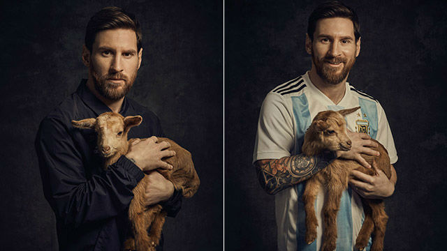 messi the goat paper magazine says he is the best