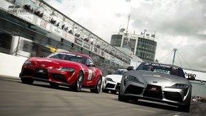 Toyota GR Supra en Gran Turismo Sport.