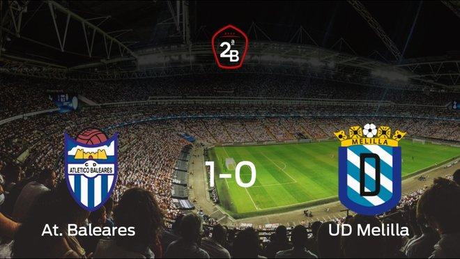 El At. Baleares logra clasificarse para la siguiente fase de los playoff (1-0)