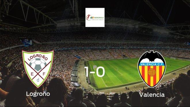 El Logroño Femenino vence 1-0 en su estadio ante el Valencia Femenino