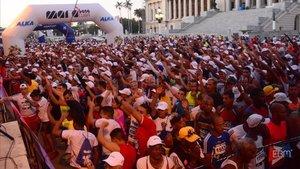 6.000 atletas correrán el domingo en la Maratón de La Habana