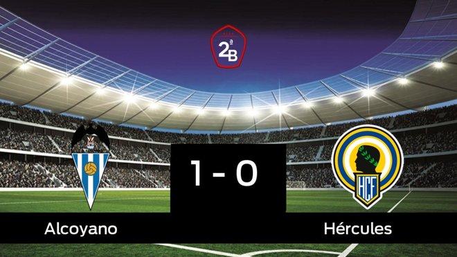 El Alcoyano se queda los tres puntos frente al Hércules