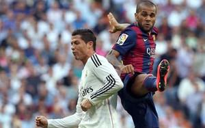 Alves habló de su último pique con Cristiano