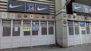 La aplicación ¿Encuentra tu escudo¿ ofrece una ruta virtual por el Camp Nou