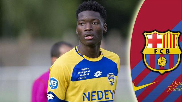 Así juega Lucien Agoumé, el centrocampista del Sochaux que quiere el Barça
