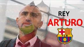 El Barça cerró el fichaje de Arturo Vidal