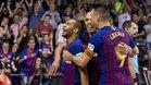 El Barça Lassa ha sumado el primer punto de la final con una goleada