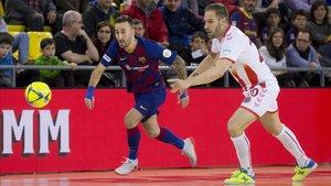 El Barça no pasó del empate en el Palau