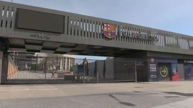 El Barça pone a disposición de la Generalitat sus instalaciones si fueran necesarias