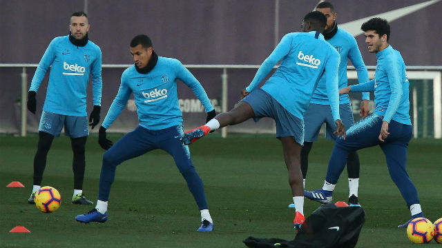 El Barça tiene la mente puesta en el Valladolid