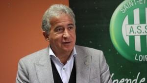 Bernard Caiazzo, presidente del Saint-Étienne