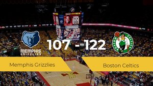 Boston Celtics consigue la victoria frente a Memphis Grizzlies por 107-122