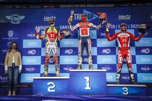 Bou lideró el podio en Andorra